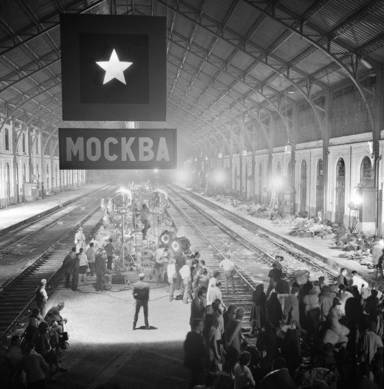 Estación de Delicias reconvertida en terminal rusa de ferrocarril.