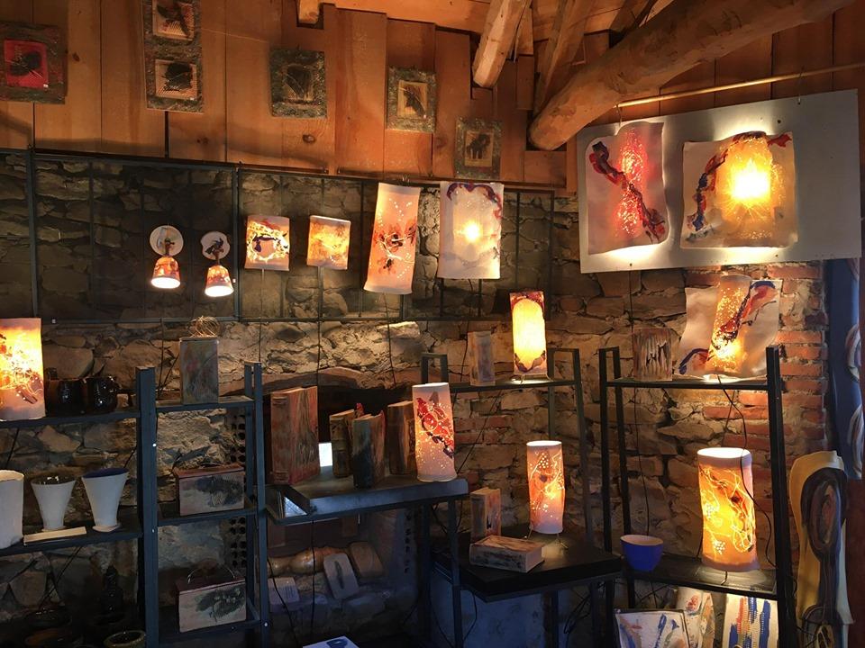 Muestrario de lámparas artesanales