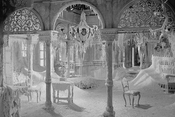 Una de las escenas que recrean el interior de una casa de hiel