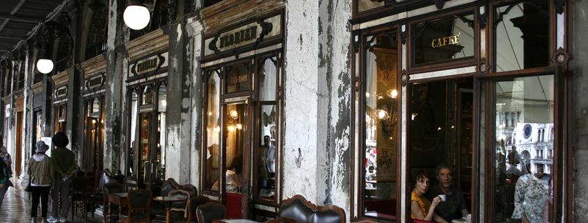 Fachada del Caffè Florian
