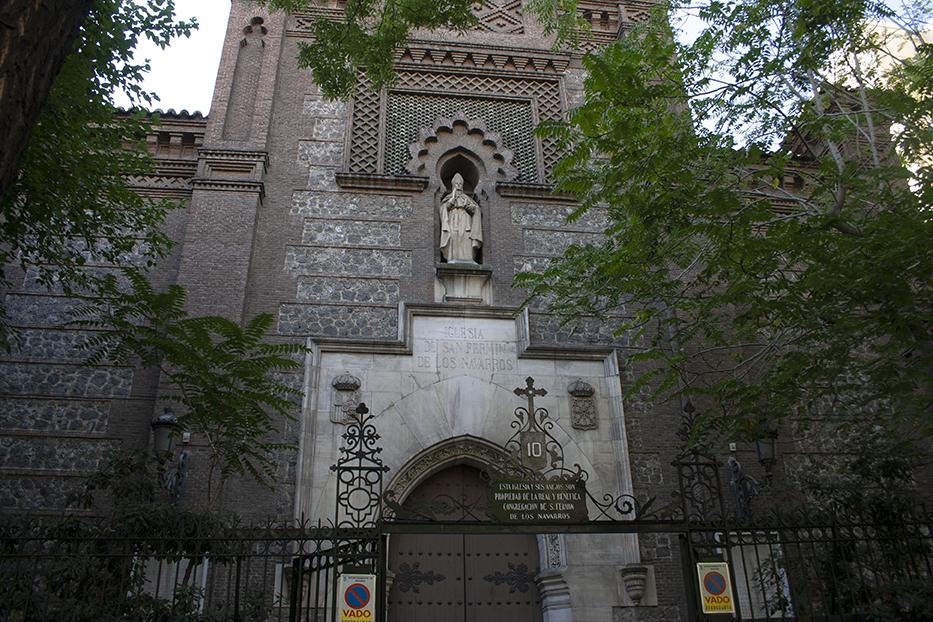 La iglesia de S. Martín de los Navarros (1891)