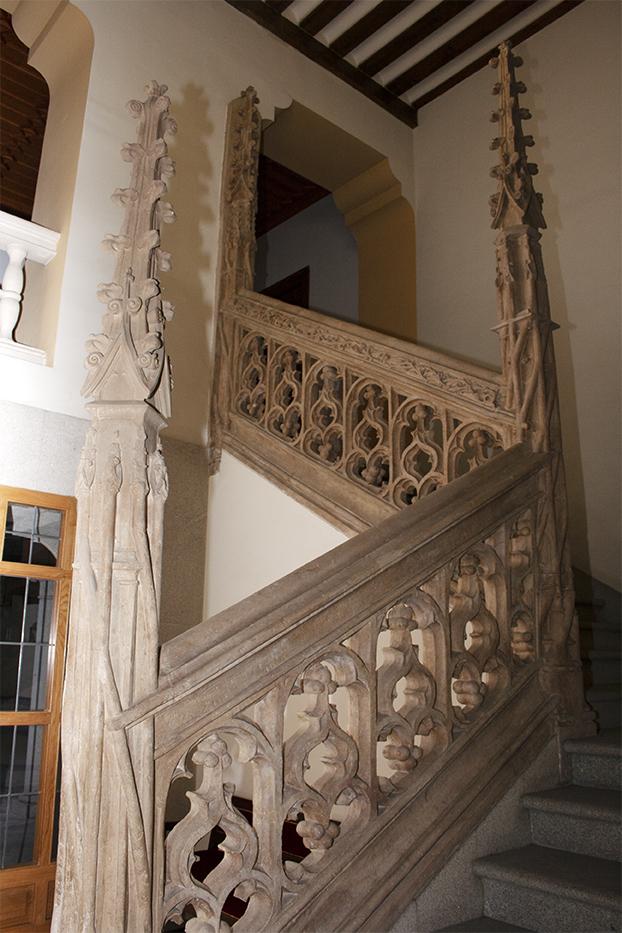 Escalera del antiguo Hospital de La latina