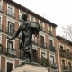Estatua de Eloy Gonzalo en la Plaza de Cascorro