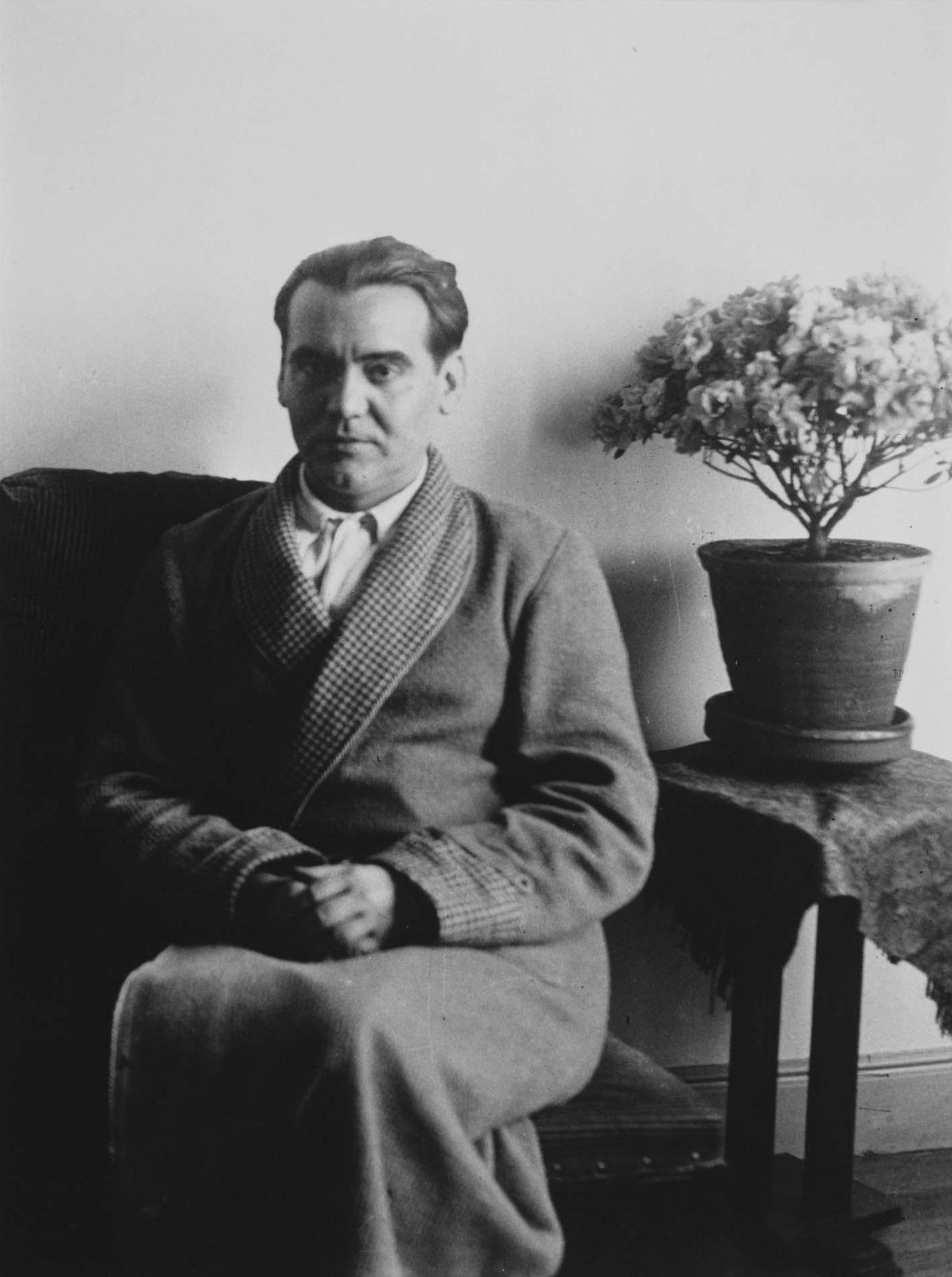 Retrato de Federico García Lorca. Foto de Alfonso Sanchez Portela. 1931.