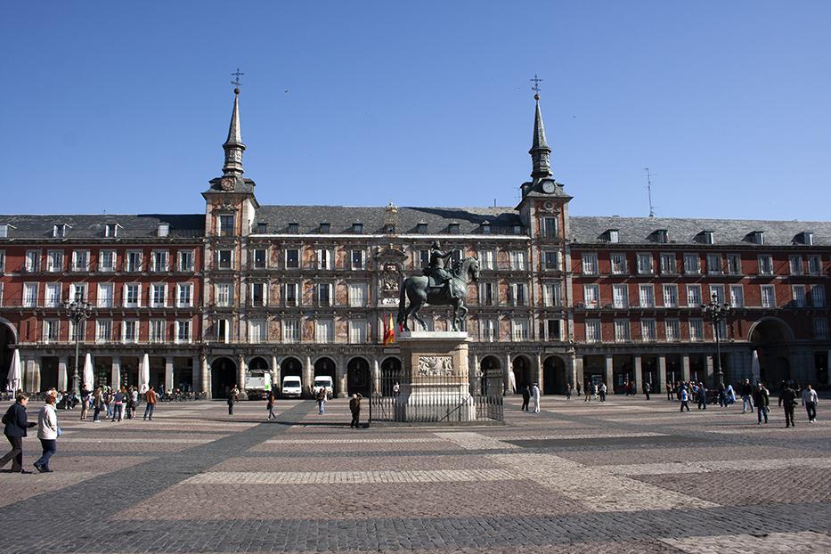 Plaza Mayor (2014. Paradas con Historia)
