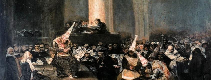 Auto de fe de la Inquisición ( 1812 y 1819) Francisco de Goya.
